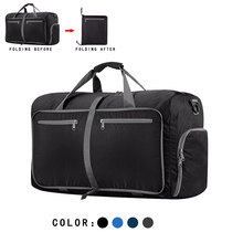 Nylon Men Women Travel Bag Hand Luggage Large Capacity Foldable Waterproof Travel Bag Men Women Nylon Duffle Bag Waterproof