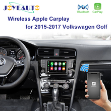 Joyeauto bezprzewodowy apple carplay dla Volkswagen Golf 2015 2017 ulepszony Android lusterko samochodowe Wifi iOS13 samochód grać wsparcie kamery