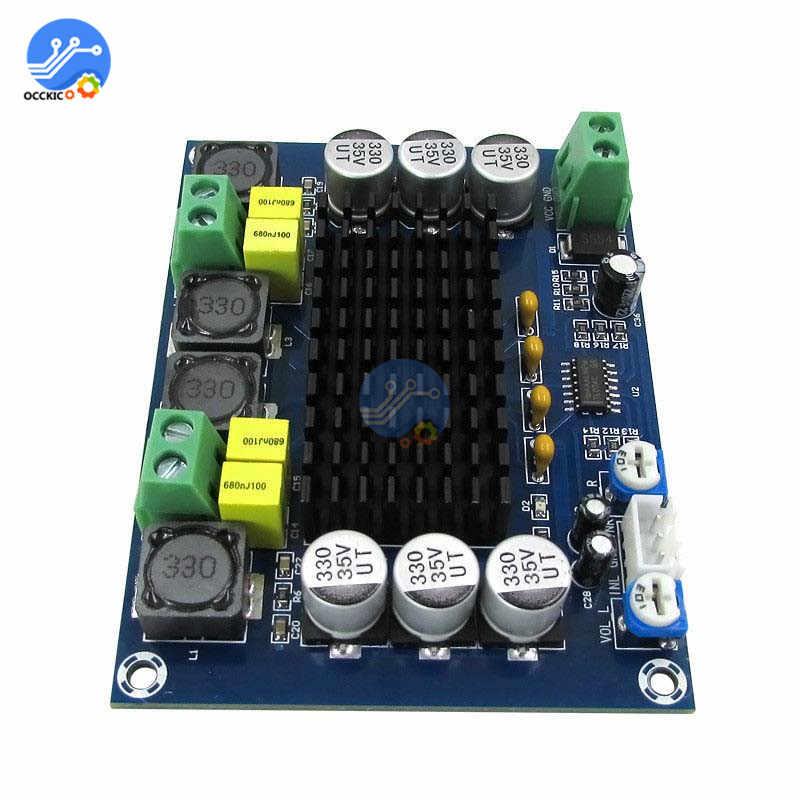 TPA3116D2 XH-M543 ערוץ כפול סטריאו גבוהה כוח דיגיטלי אודיו מגבר לוח 2*120W Amplificador DIY מודול 12 v-24 V