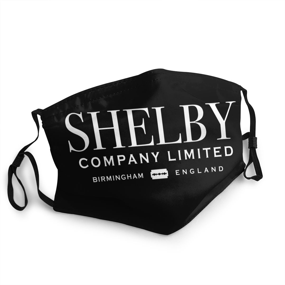 Shelby Company Non-Disposable Mouth Face Mask Peaky Blinders Anti Bacterial Dust Mask Protection Cover Respirator Mouth Muffle