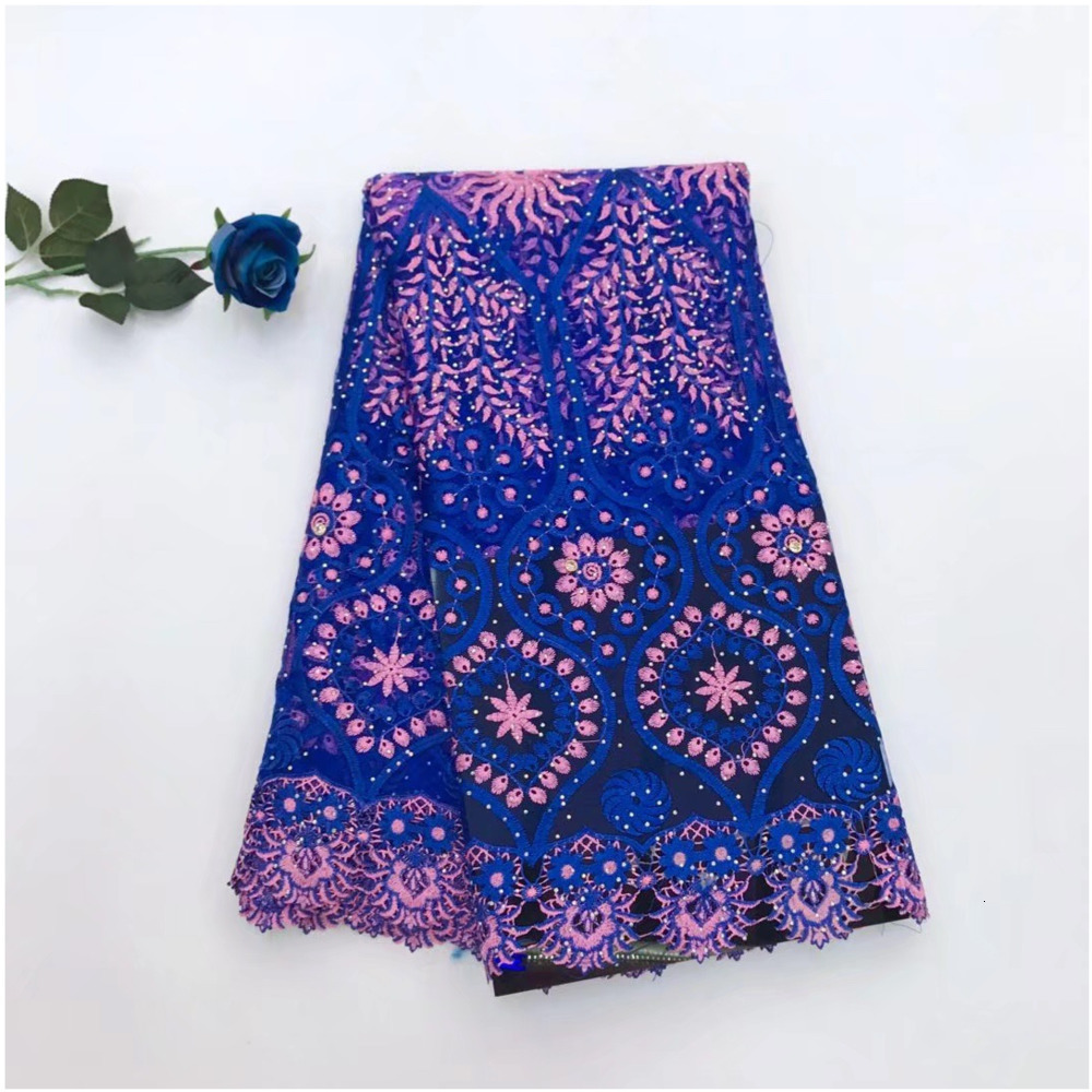 2019 New Luxury High Quality Embroidered Lace Fabric Nigerian Woman Lace Fabrics Dress African French Lace Fabric Wedding Dress