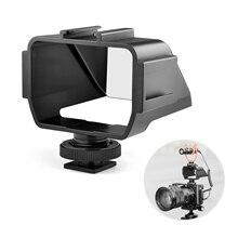 Vlog Kamera Flip Up Spiegel Bildschirm mit 3 Kalten Schuh Halterungen für Mic LED Licht für Sony A6000/A6300/A6500/A72/A73 für Nikon Z6/Z7