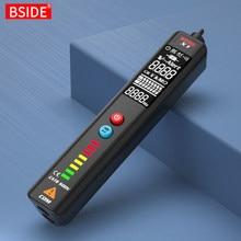 BSIDE X1-detector de voltaje, probador multímetro, pantalla grande LCD sin contacto, lápiz de prueba inteligente, indicador en vivo, Sensor de cableado eléctrico
