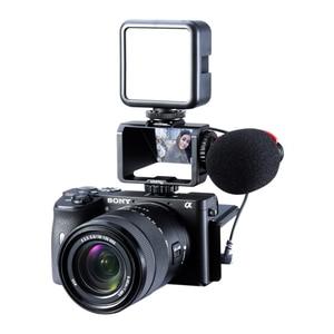 Image 2 - Uurig Camera Periscope Flip Screen Beugel Voor Sony A6000 A6300 A6500 A7III A7R3 RX100 Nikon Z6 Z7 Canon Panasonic Fuji