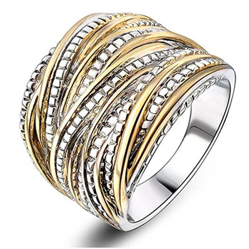 Anillo De plata De primera ley y oro 14 K para Mujer, sortija, plata esterlina 925, GEMA, 100%, boda