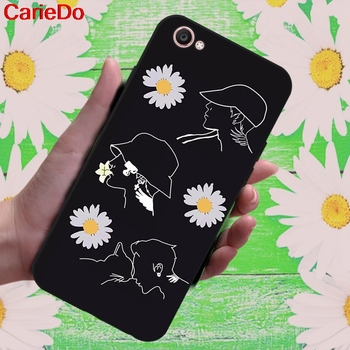 Carie-Daisy 1 Soft TPU Case Cover For Vivo Y71 Y83 Y81 Y51 Y93 Y97 Y91 Y95 V11i Z3i Z3 X21UD Z5X X27 V15 S1 Pro image