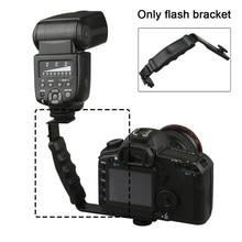 Camcorder-Holder Flash-Bracket Photo-Accessory Support Camera Dslr-Grip Video DV Dual-Hot-Shoe