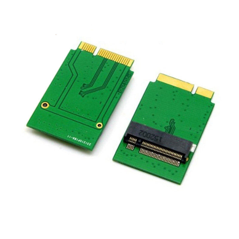 M.2 NGFF SSD To 17+7 Pin Adapter Card Board For MacBook Air 2012 For Macbook AIR 2012 A1466 A1465 MD223 MD224 MD231 MD232 SSD M2