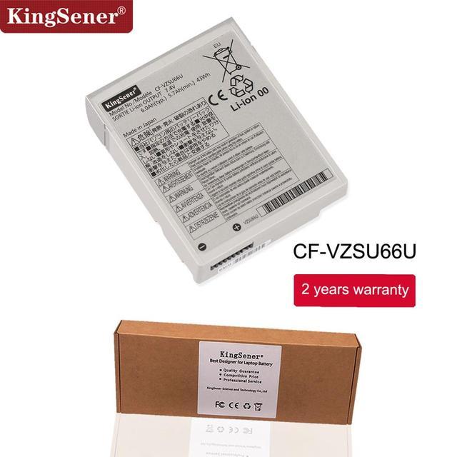 KingSener celular japonés nuevo CF-VZSU66U batería del ordenador portátil para Panasonic Toughbook CF-C1 CF-VZSU66 CF-VZSU66U CF-VZSU66R 7,4 V 6.0Ah