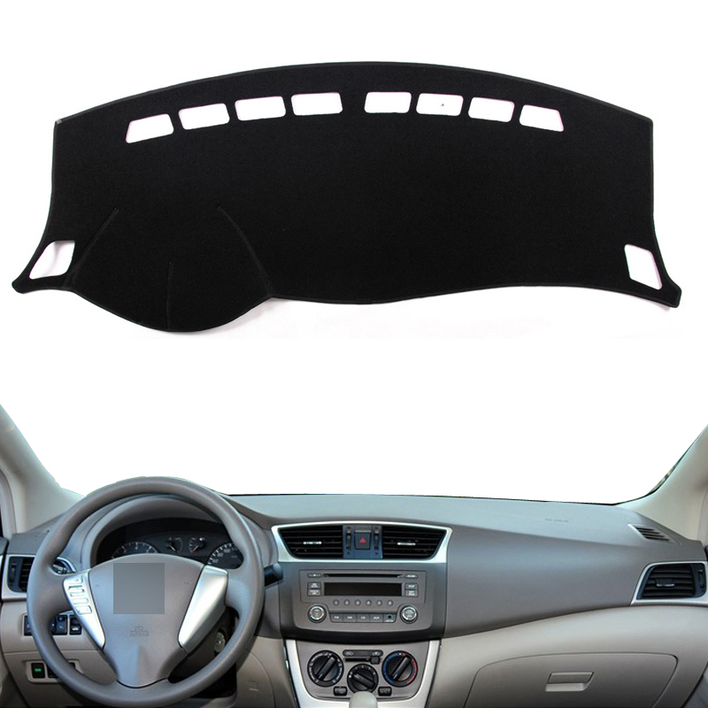 For 2013-2018 Nissan Sentra Sylphy Non-slip Dashboard Cover Dashmat Dash Mat Pad