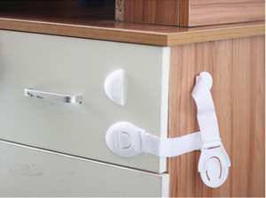 Drawers Lock Children Wardrobe Cabinet Security-Proof Baby Safety 500pcs