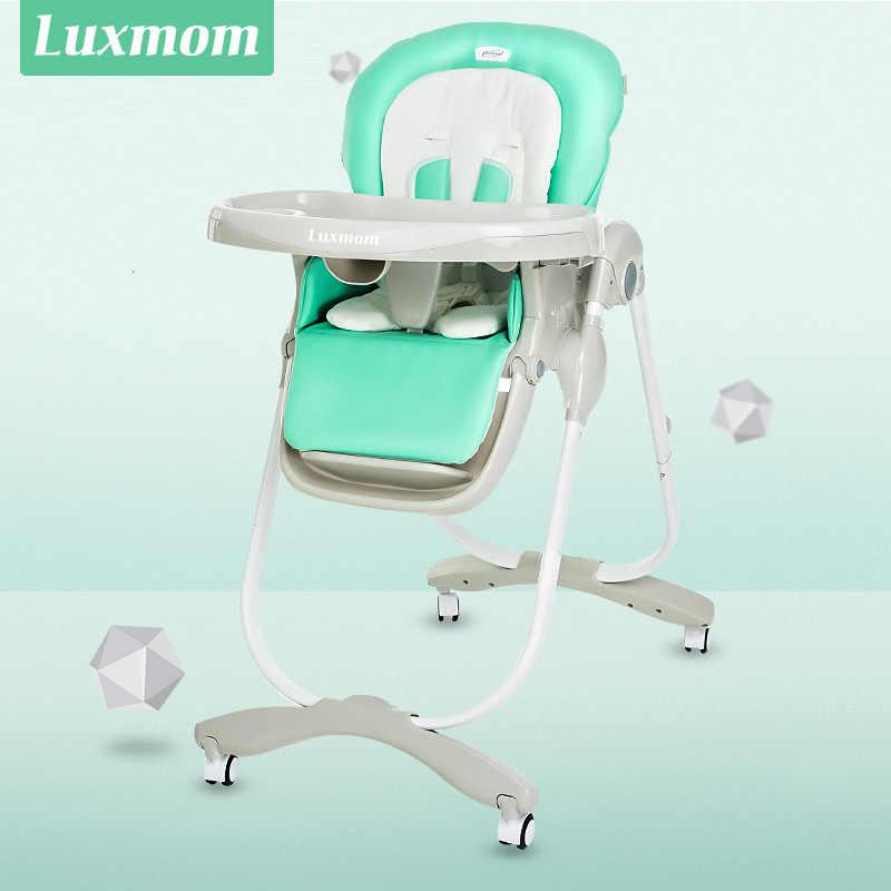 Silla de comedor de bebé TEKNUM plegable multiusos portátil infantil  regulación de alimentos mesa de comedor Silla de comedor