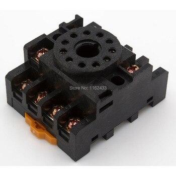 20 unids/lote PF113A 11 pin zócalo de relé base para MK3P JTX-3C H3CR-A