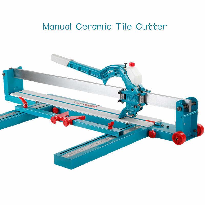 manual ceramic tile cutter ceramic tile pusher 800 1000 1200 high precision laser floor tile cutter