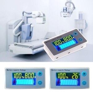 Image 4 - 2020 newバッテリー容量インジケータ電圧モニタ 10 100vユニバーサルバッテリ容量電圧計テスター液晶車鉛酸インジケータ