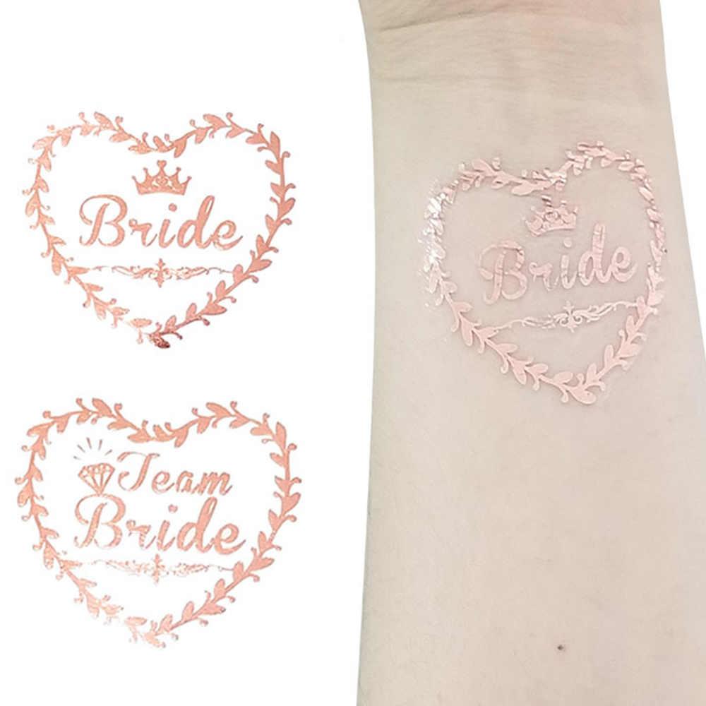 バレンタイン装飾ブライダルチーム 20 本の一時学士花嫁パーティーステッカー装飾結婚ブライダルするパーティー用品