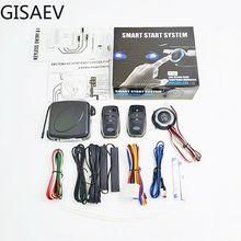 Keyless Entry-System Auto Start Stop Taste Universal Smart Key System Auto Alarm Zentrale Türschloss mit Fernbedienung Auto starten