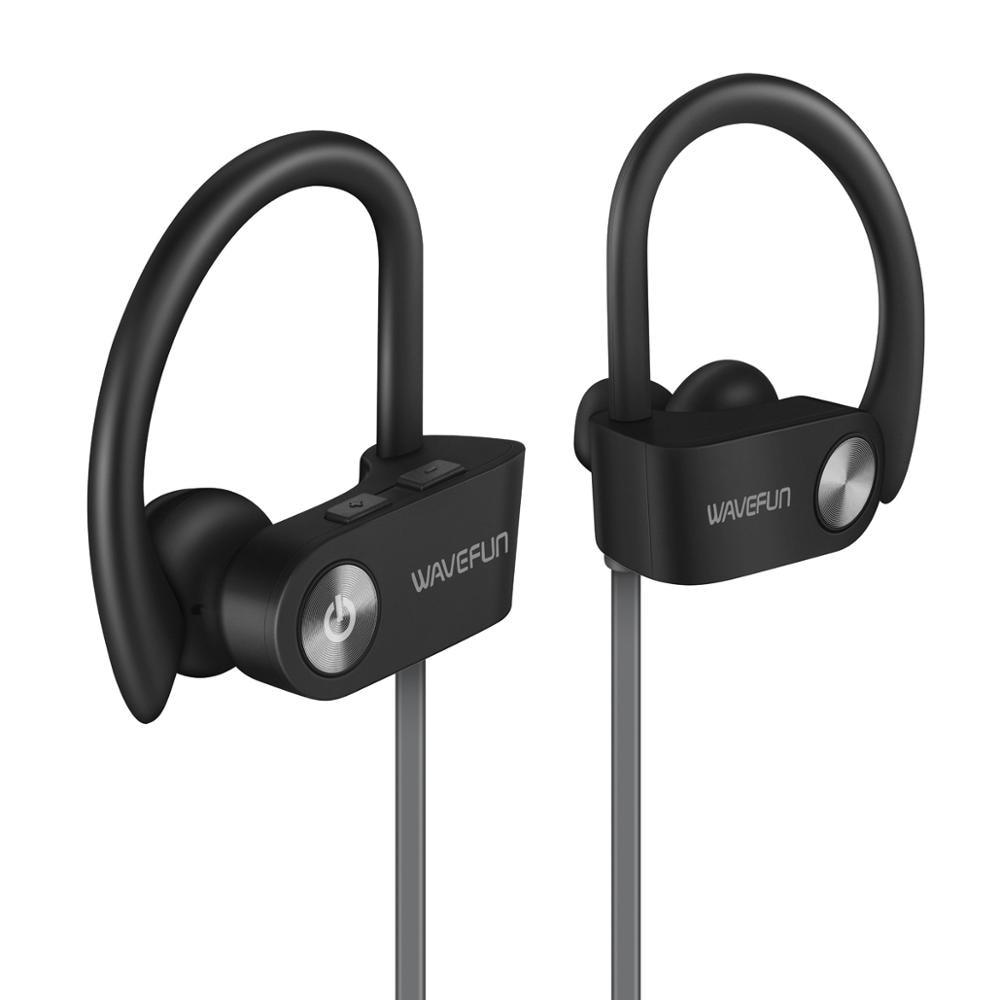 Wavefun X Buds Bluetooth 5.0 Earphone IPX7 waterproof AAC wireless Headphones sports earbuds with mic for iPhone xiaomi Huawei-in Bluetooth Earphones & Headphones from Consumer Electronics on AliExpress
