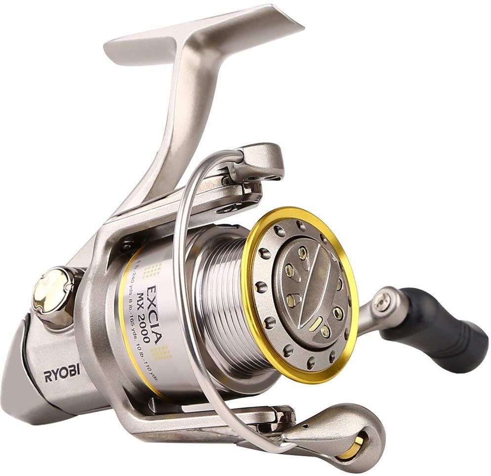 RYOBI דיג סליל EXCIA ספינינג סליל 8 + 1 מסבים 4.9: 1 יחס 6.0KG כוח יפן סלילים עם ידית מתקפלת