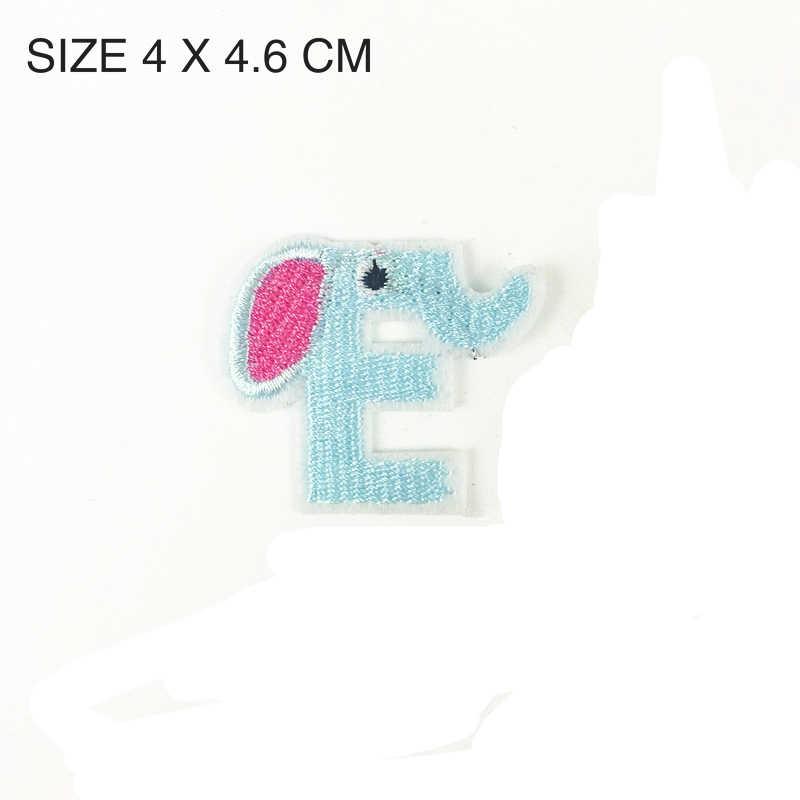 1PC Twinkle nos N łatki litera alfabetu A-Z haftowane żelazko na łatka na odzież odznaka do torby Pant szycia