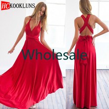 Wholesale 2020 Sexy Women Boho Maxi Club Dress