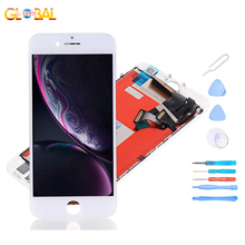 100% Tested LCD Screen For iPhone 6 A1549 A1586 A1589  LCD Display Touch Screen Replacement For iPhone 6 Plus A1522 A1524 A1593 цена