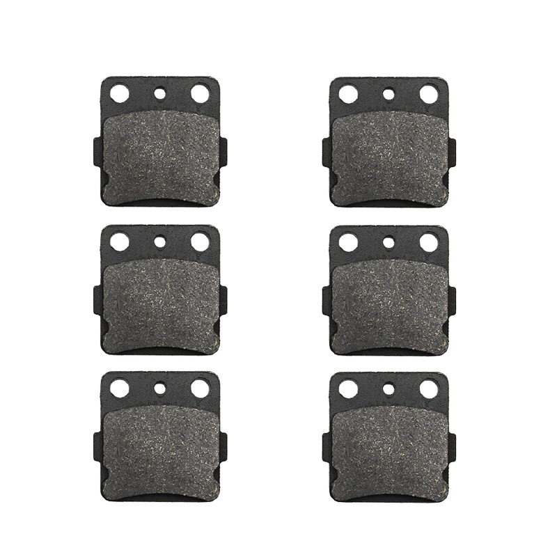 Motorcycle Front and Rear Brake Pads for HONDA ATC200 <font><b>ATC</b></font> 200 1986 1987 ATC250 <font><b>ATC</b></font> 250 1983 1984 ATV image