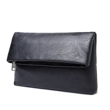 Tidog Korean men's hand bag man folding clutch bag
