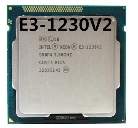 XEON E3-1230V2 3.30GHZ 4-Core 8MB SmartCache E3-1230 V2 DDR3 1333/1600 FCLGA1155 TDP 69W
