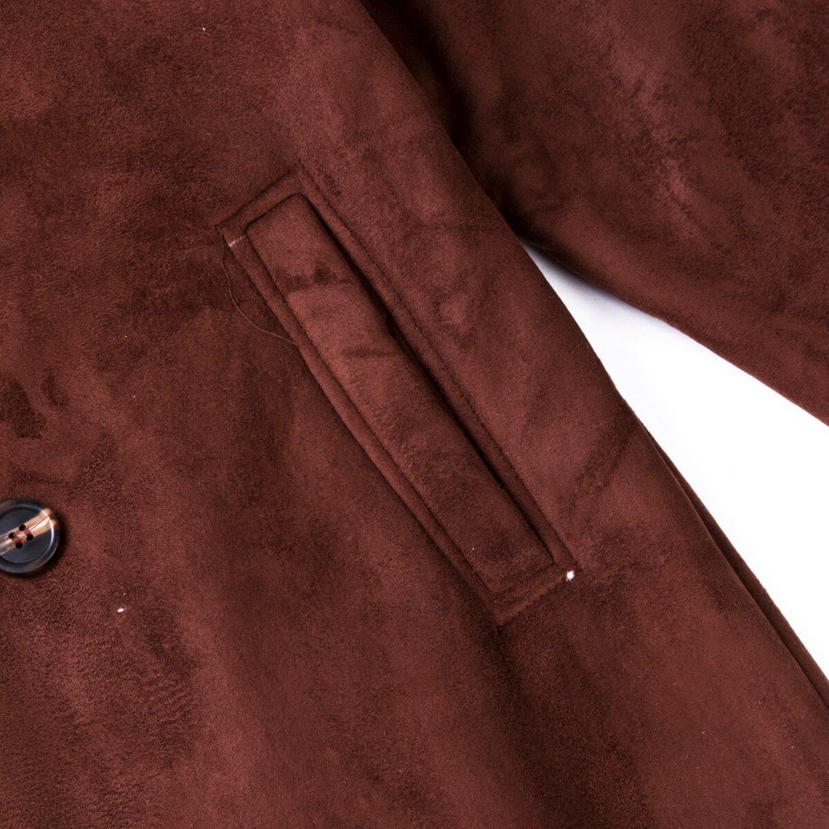Hc69d35c425ea483b86252511f50d66bbq Men's Winter Warm Trench Windproof Fur Fleece Long Coat Overcoat Lapel Warm Fluffy Jacket Buttons Outerwear Plus Size Coat