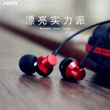 Remax RM-512 Wired Earbuds Earphone 3.5mm In Ear Earphone Earpiece With Mic Ster