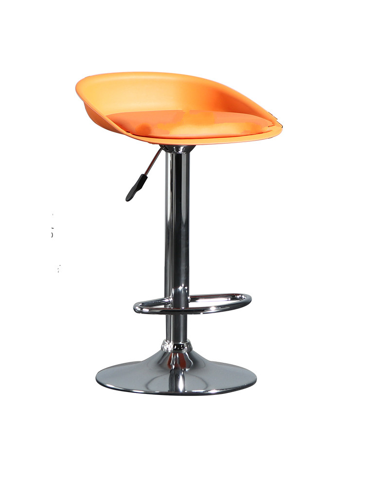 Nordic Minimalist Bar Chair Modern Personality High Stool Backrest    Cash Register Front Desk Rotary Lift