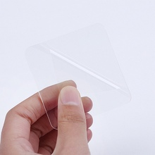 10Pcs/Set Square Strong Waterproof Sticky Double-sided Gripping Pads No Trace Transparent