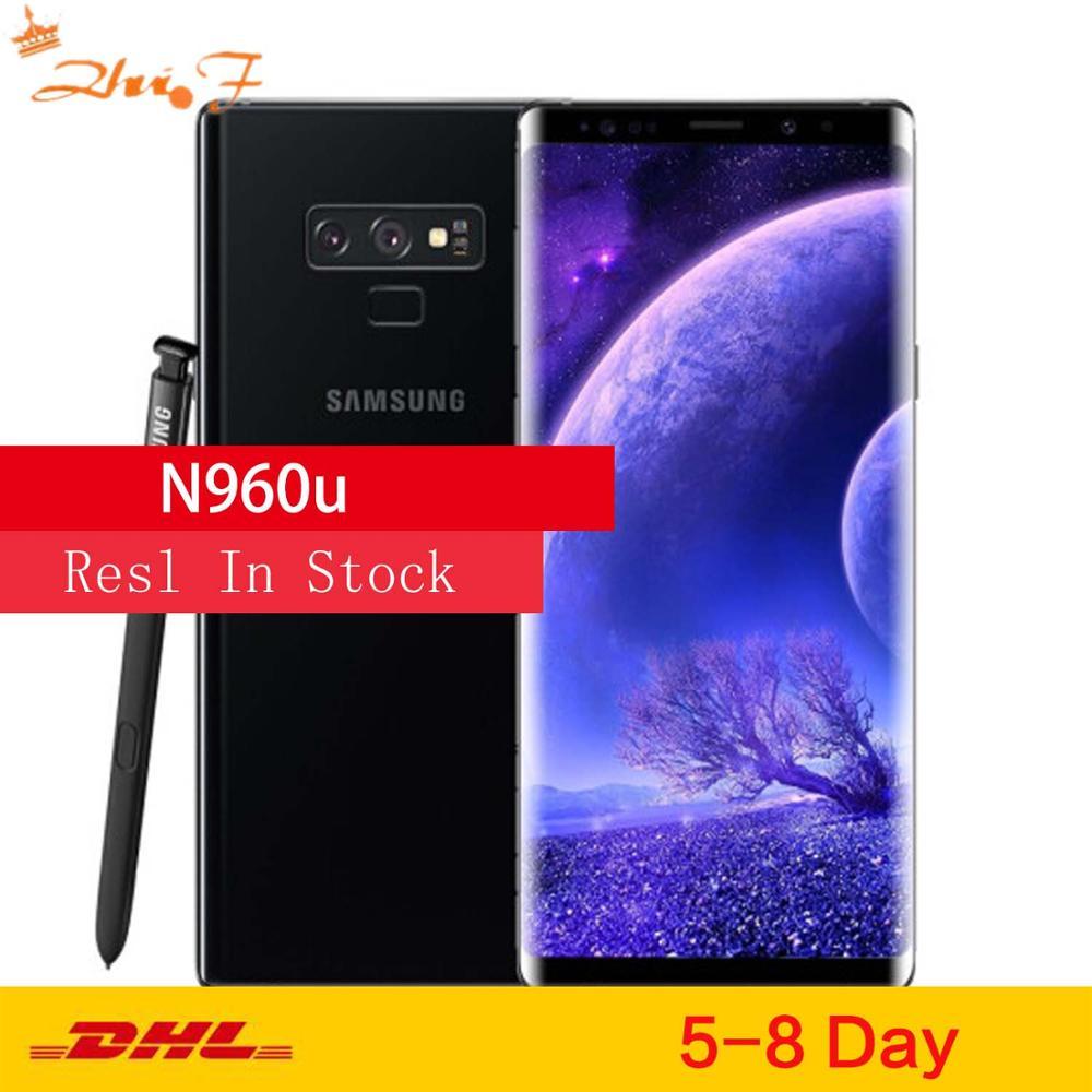Samsung – smartphone Galaxy note 9 de 128 go débloqué, téléphone portable, Snapdragon 845, Octa Core, écran de 6.4 pouces, double appareil photo de 12 mpx, 8 go de RAM, NFC