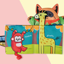 Montessori-Toys Baby 0-12-Months Cloth Soft Hand-Puppet Soft-Cloth-Books Memory Rotten-Bite