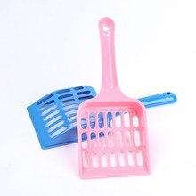 Полезная Лопата для кошачьего туалета, инструмент для чистки домашних животных, пластиковый совок для кошачьего песка, чистящие средства, туалет для собачьей еды, ложки
