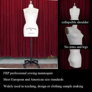 factory direct selling the newest design adjustable shoulder size female torso sewing mannequin