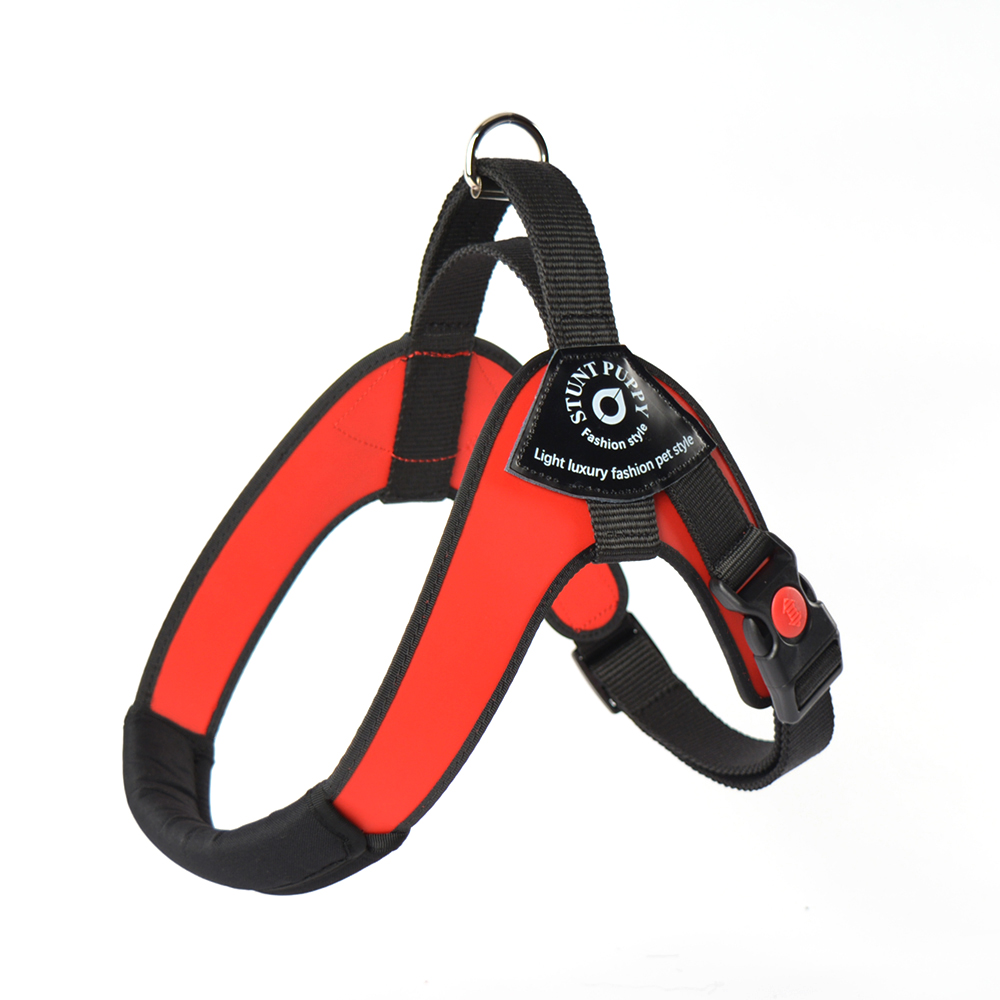 Image 3 - Stunt Puppy Brio Pet Big Dog Harness Soft Double Coated Leather Large Dogs Harnesses Comfortable Waterproof Durable 10 60kgHarnesses   -