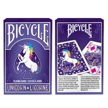 Bicicleta unicornio naipes cartas mágicas Deck Poker tamaño personalizado Edición Limitada cartas mágicas trucos de magia accesorios para mago