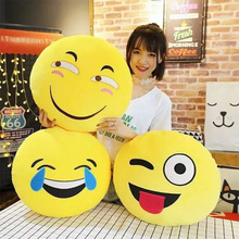 Expression pack warm hand plush toy Creative emoji pillow funny expression childrens cushion gift