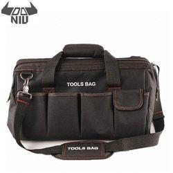 DANIU, 12, 14, 16, 18 дюймов, сумка для инструментов электрика, водонепроницаемая, вместительная, сумка для путешествий, для оборудования, мужская су...