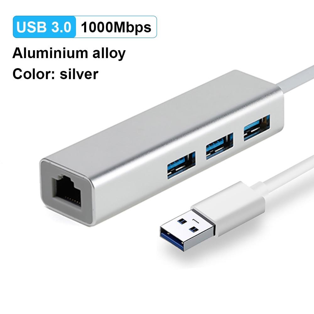 USB3.0 1000M Silver