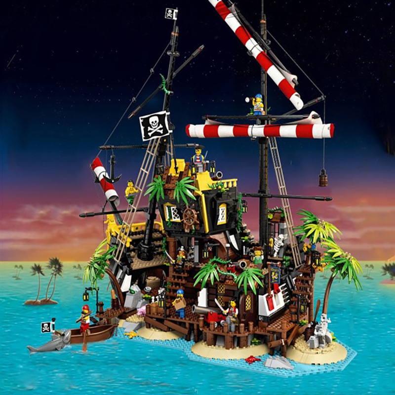 698998 New Pirates Of Barracuda Bay Building Blocks Bricks Compatible 21322 Boys Girl Toys Gift Toys For Children Birthday Gift