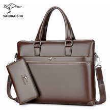 office bags for men's Briefcase Business laptop bag 2019 Leather Bags C