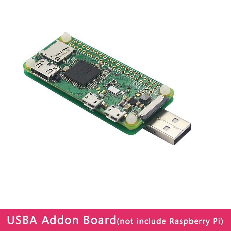 Raspberry Pi Zero USB Addon Expansion Board USBA Add On Extenstion Board With Acrylic Case For Raspberry Pi Zero W WH 1.3