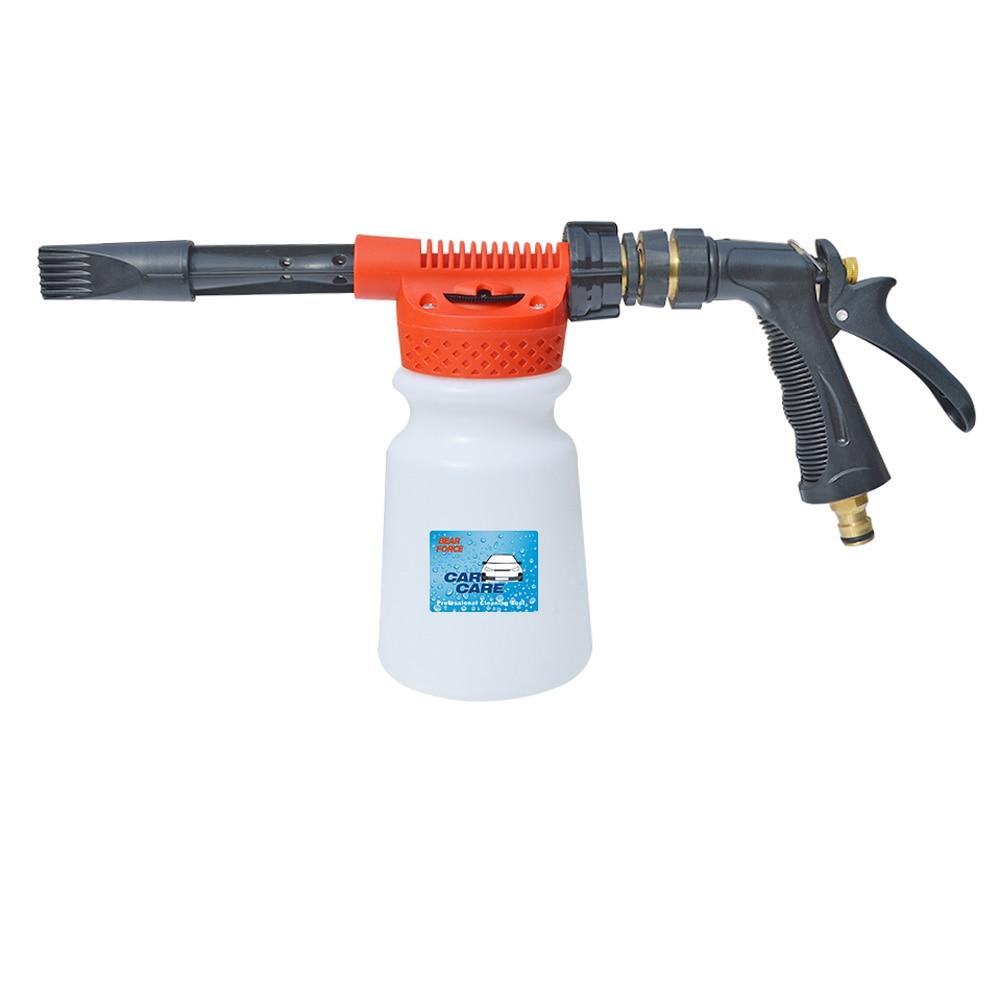 Tap Water Foam Gun Carwash Car Cleaning Foam Cannon Soap Gun Snow Foam Lance Low Pressure Foam Generator Water Hose Foam Gun