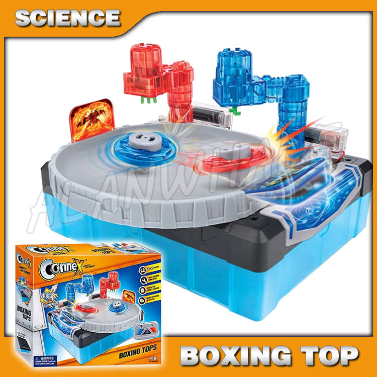 Boxing Tops Scientific Set Brain Physics Science Kits Experiment Electronics Discovery Toys Building DIY Educational