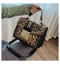 louis Fashion Leopard Messenger Bags for Women Brand crossbody Ladies Party Handbags Purses Luxury Leather Small Shoulder bag vento marea ol ladies genuine leather business black handbags women fashion messenger bags 2019 luxury brand shoulder bag purses