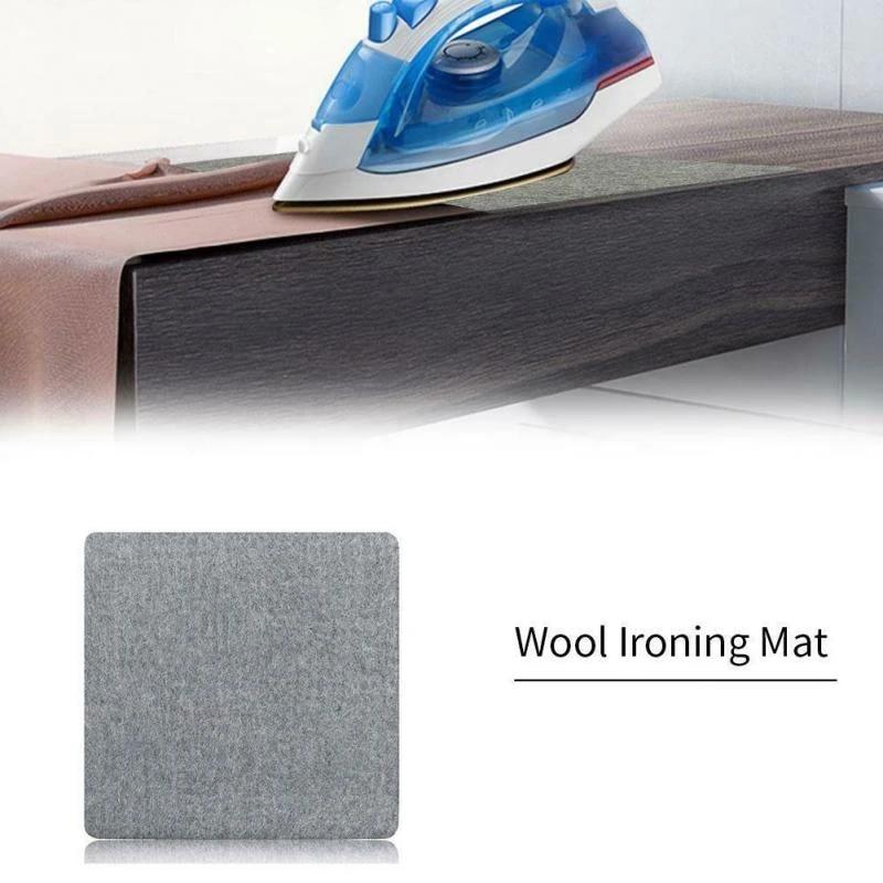 Wool Ironing Mat Pressing Pad High Temperature Ironing Board Felt Pad 1//2 ›