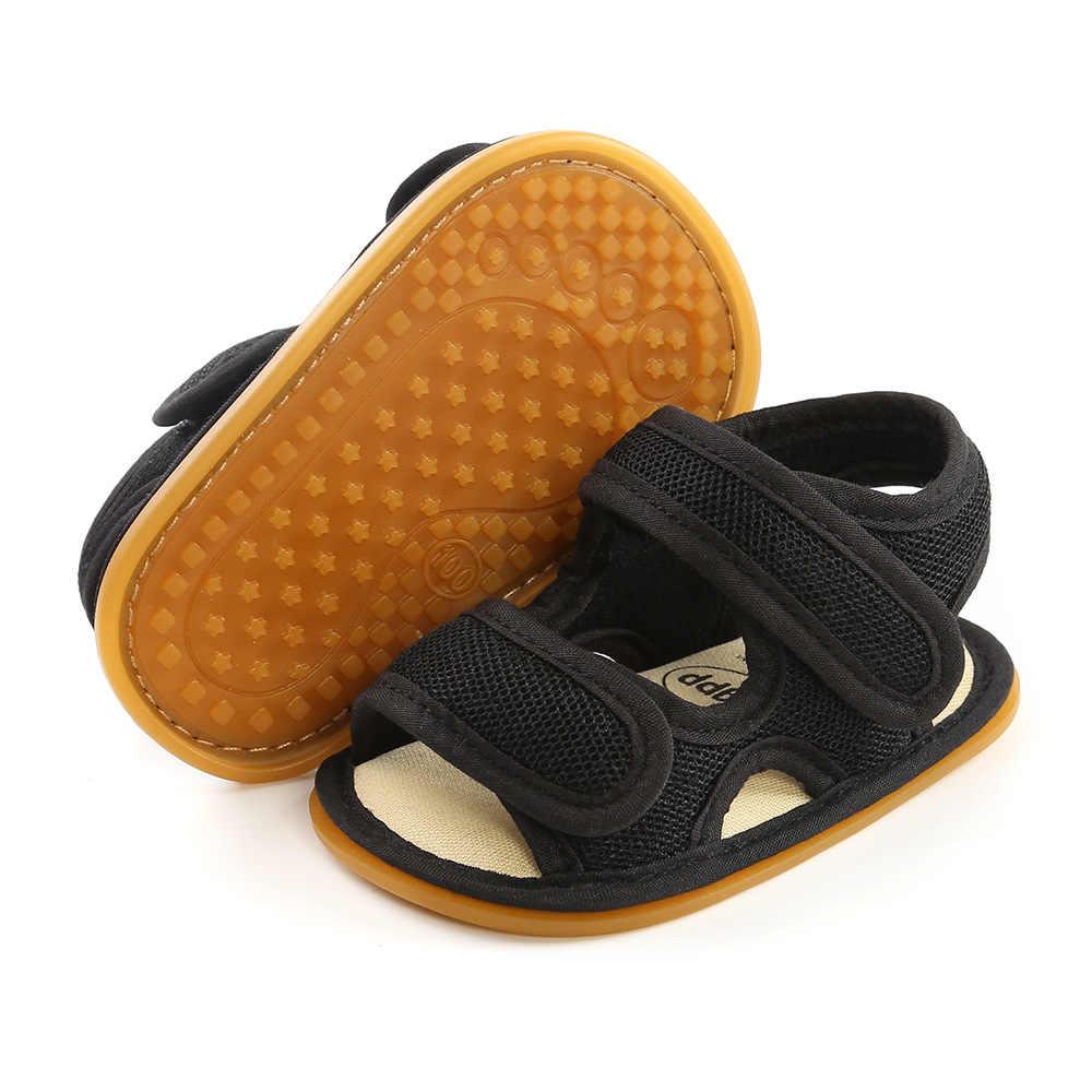 2020รองเท้าแตะฤดูร้อนใหม่สำหรับเด็กทารกเด็กวัยหัดเดินSoft Sole First Walkersเด็กวัยหัดเดินรองเท้าเด็กทารกแบนวัวCribรองเท้า